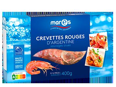 3760282770059 Crevettes rouges d'Argentine sauvages crues 400g