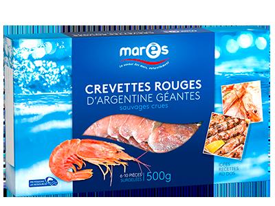3760282770066 Crevettes rouges d'Argentine géantes 500g