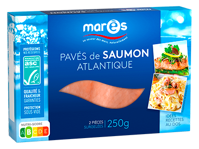3760282770134 Pavés de saumon atlantique ASC 250g