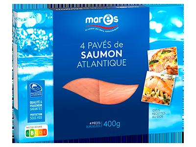 3760282770141 4 pavés de saumon atlantique 400g