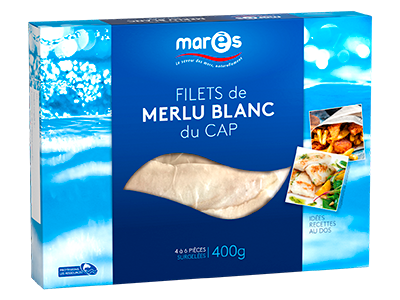 3760282770158 Filets de merlu blanc du Cap 400g
