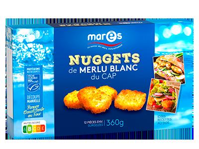 3760282770202 Nuggets de merlu blanc du Cap MSC 360g